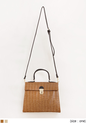 [BAG] CLASSIC STRAW TOTE BAG